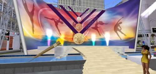 London Olympics in Second Life