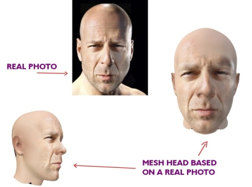 New World Notes: Would You Want to Wear Your Real Head in Second Life?