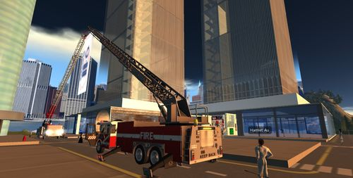 911 memorial in Second Life