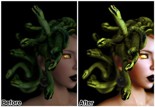 Medusa Before After 1