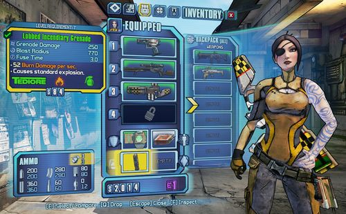 Borderlands 2 Mac OS X Gear