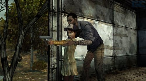 Walking Dead Clem's Shooting Lesson