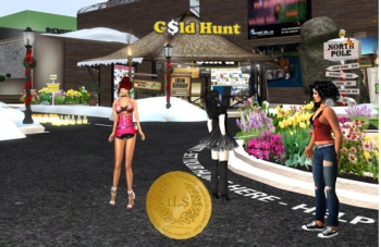 Second Ads Gold Hunt Game Second Life