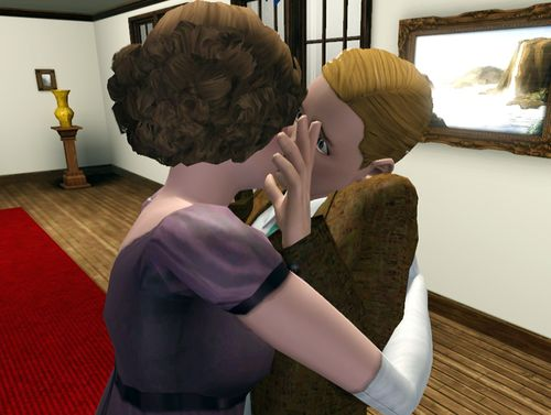 Edith's first kiss 1