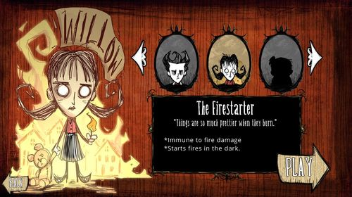 Don't Starve Willow
