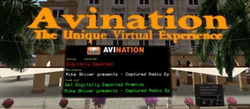 Avination OpenSim world