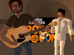 Jontahan Coulton and Hamlet Au Second Life