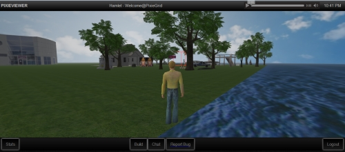 Pixie Viewer OpenSim