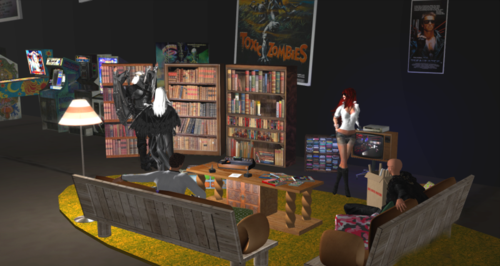 Ready Player One Chat Room in SL