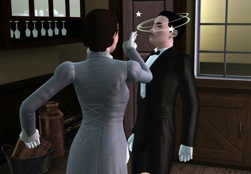 Sims 3 Mary and Thomas Downton Abbey