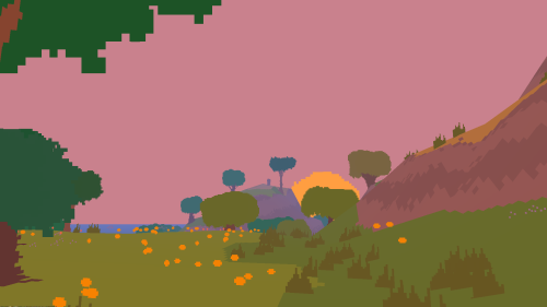 Proteus exploration game