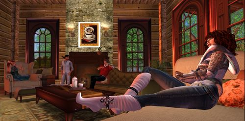 Parkinsons Support Site in Second Life