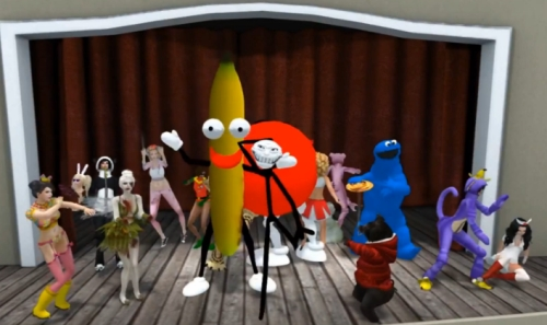Harlem Shake Second Life