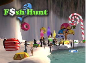 Fish Hunt game for Linden Dollars