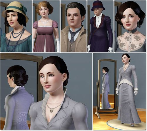 Downton Abbey Crawleys Sims 3