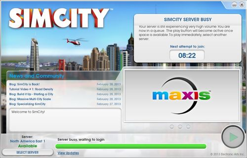 SiMCIty Server Queue