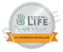 Authorized Reseller Linden Dollars