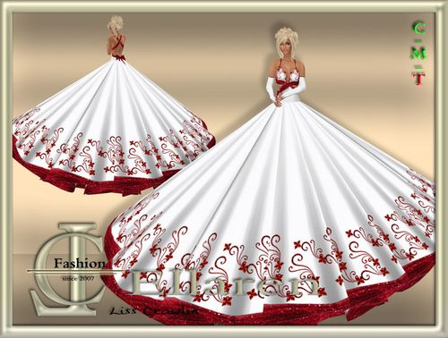 Ellareb Ball gown red