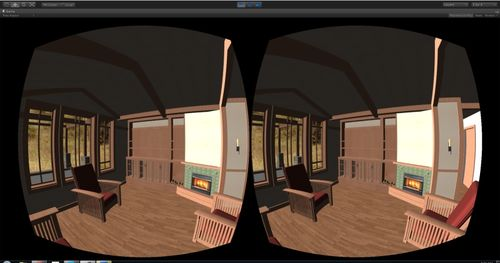 Oculus Rift Archiecture application
