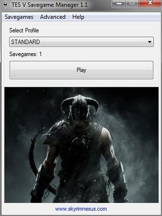 Skyrim savegame manager