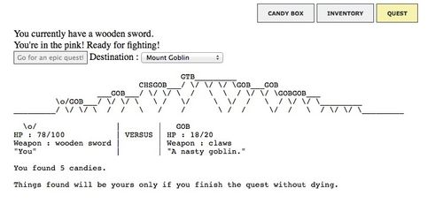 New World Notes: Unconventional ASCII Art RPG Candy Box Might Be The