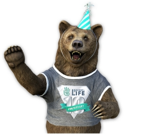 Second Life 10th anniversary bear