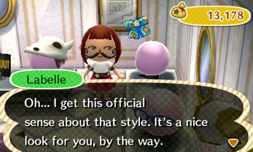 Mustache fashion New Leaf