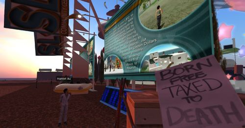Second Life 10 year walk