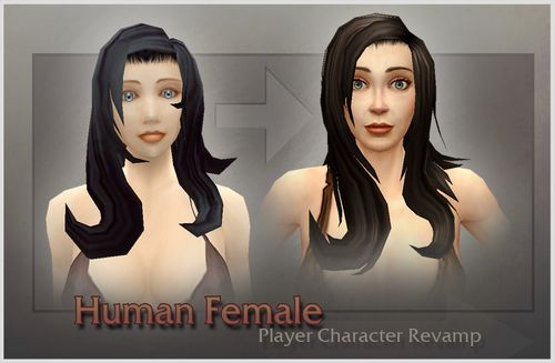 WoW Human Female 1