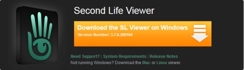 Second Life download problem