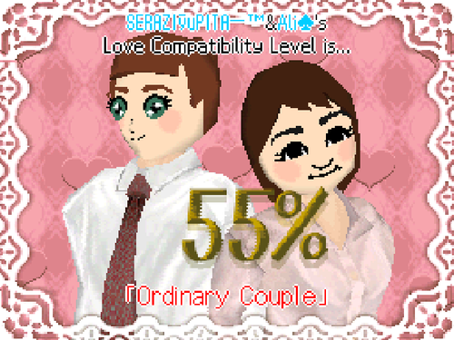 Tomodachi Collection Love Compatibility