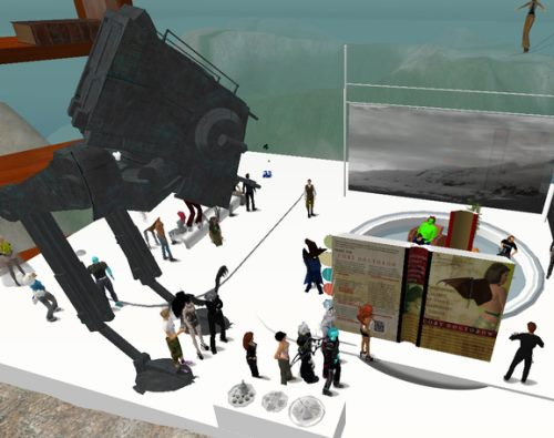 Cory Doctorow book appearance Second Life