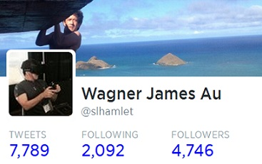 Wagner James Au Twitter