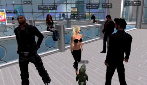 Second Life reporter