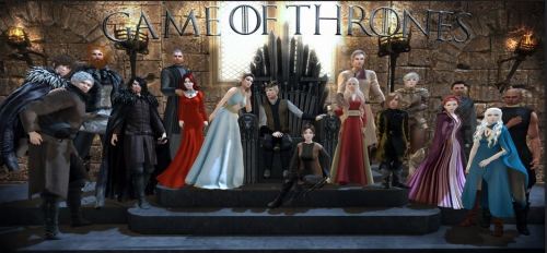 Game of Thrones Second Life cosplay