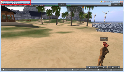 AppStream Virtual World MMO