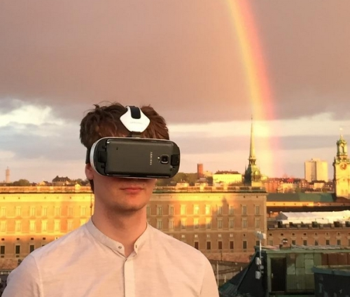 VR in beautiful real life
