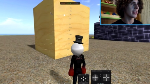 Second Life Minecraft Walkthrough Video