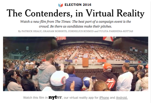 VR New York Times