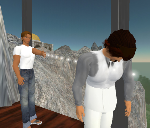Becoming Hamlet in Second Life