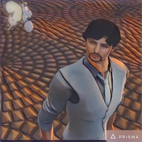 Prisma avatar Second Life app