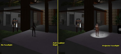 SL Lighting tutorial facelight ALM