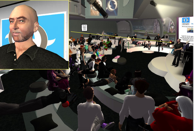 David Brin futurist SF Second Life