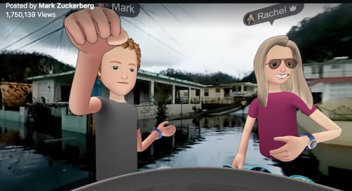 Mark Zuckerberg Virtual Empathy Social VR