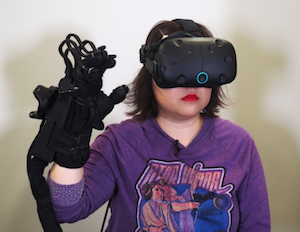 Haptx VR touch sensation