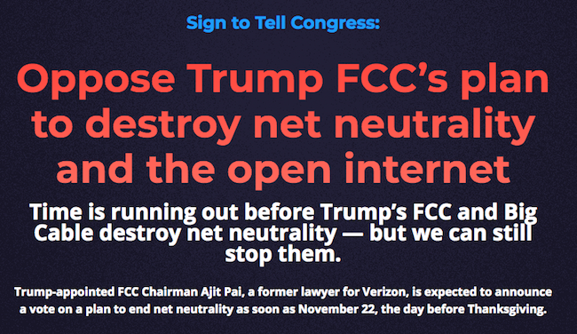 Net neutrality petition MMO gamers