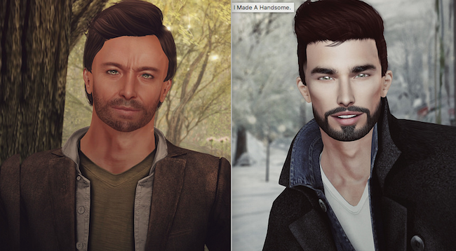 SL Male avatar makeover