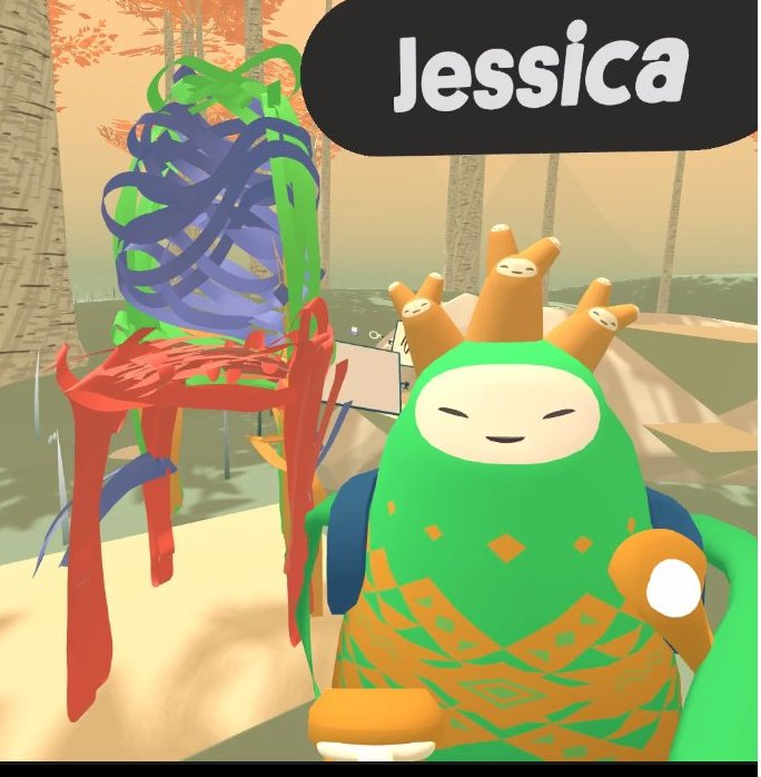 Social VR building tools Jessica Outlaw