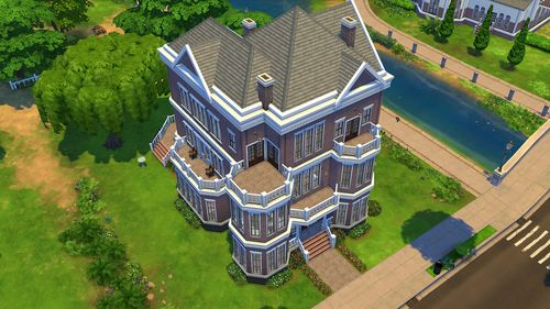 Barnesworth Anubis Sims 4 builds