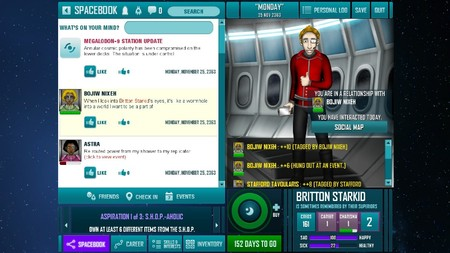 Redshirt Indie Game like The SIms